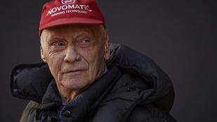 Niki Lauda üzent, hamarosan visszatér