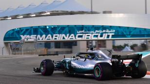 A Mercedesé az első sor a szezonzárón