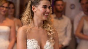 És akkor most ismerje meg a Dunántúl legszebb menyasszonyát!