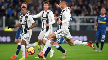 Igazi ösztön, ahogy C. Ronaldo érkezik a kapu elé