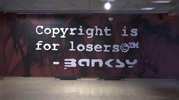 Milliókat érő Banksy képeket foglaltak le Belgiumban
