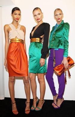 Color blocking a Gucci modellein