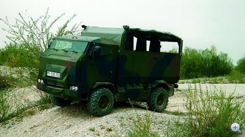 Mungo páncélozott szállító jármű a FUMO alapjain