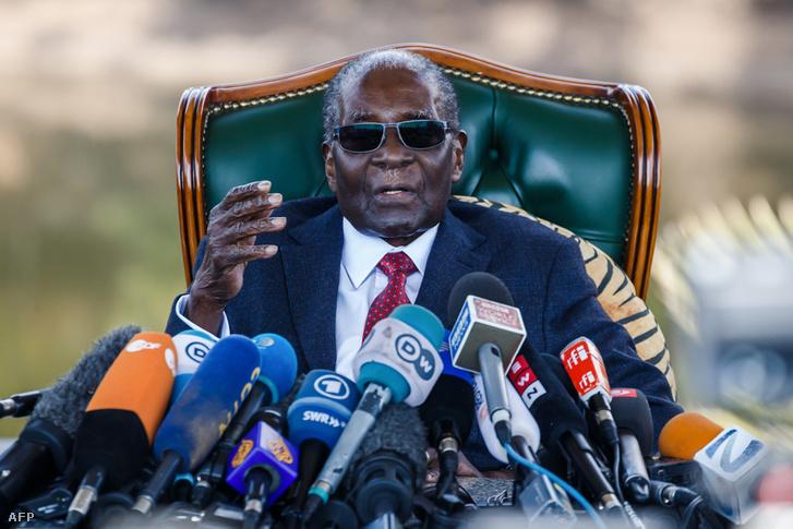 Mugabe 2018. július 29-én