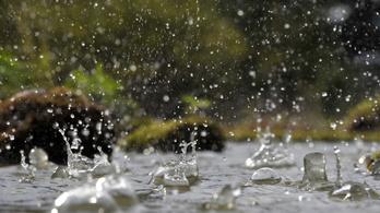Kiadós eső jön, hétfő estig el sem áll