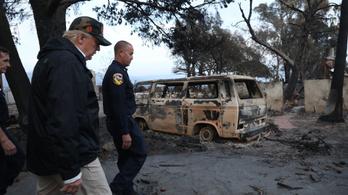 Véget ért Kalifornia történetének legpusztítóbb tűzvésze
