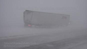 Kansasban rendkívüli állapot van a hóviharok miatt