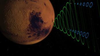Milyen hangja van egy marsi leszállásnak?
