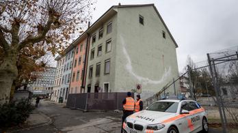 Hatan meghaltak egy lakástűzben Svájcban