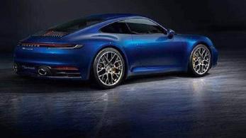 Itt megnézhetjük a következő Porsche 911-est