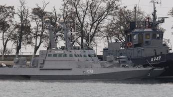 12 ukrán tengerész került előzetesbe a Krímben