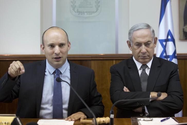 Bennett és Netanjahu 2016 auguszusában