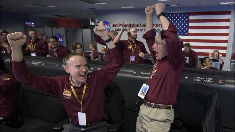Új űrszonda landolt a Marson