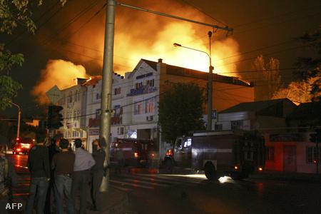 2007-ben is fellángolt a harc a lázadók és az orosz különleges alakulatok közt