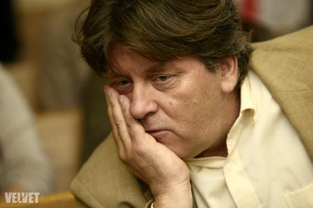 Bakács Tibor az áprilisi, szalámi-ügyi tárgyaláson