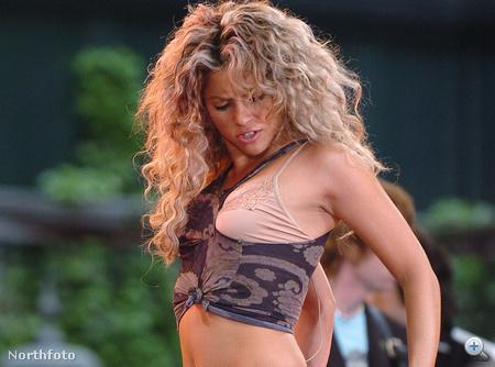 Shakira így táncol