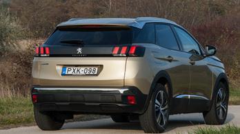 Teszt: Peugeot 3008 1.5 BlueHDi Allure – 2018.