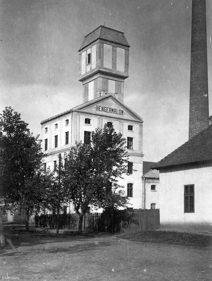 1920 - a Kelenföldi Erőmű épülete