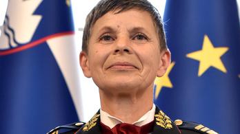 Szlovéniában először került nő a hadsereg élére