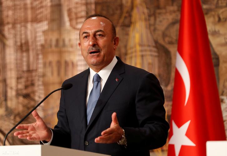 Mevlüt Cavusoglu, török külügyminiszter
