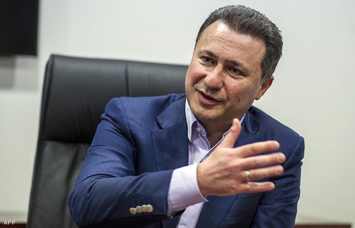Nikola Gruevszki, volt macedóniai miniszterelnök
