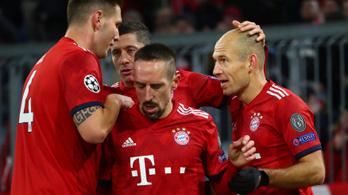 A Real és a Bayern a BL-ben jöhet ki a krízisből