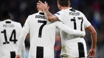 Ronaldo szenzációs alakításához Chiellini tanár úr is kellett