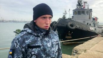 Az összes elfogott ukrán tengerész előzetesbe került az oroszoknál