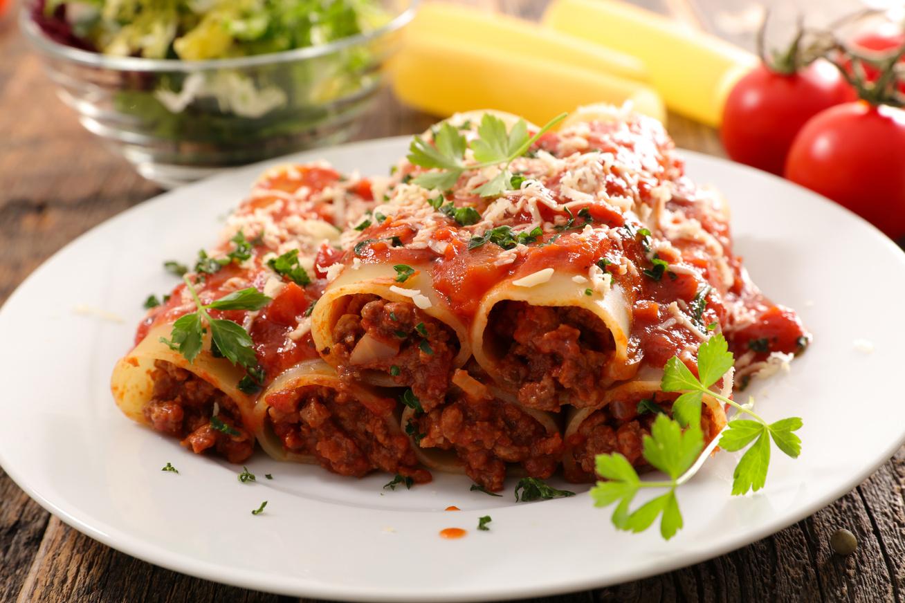 Darált húsos, sajtos csőtészta: ahogy az olaszok készítik a cannellonit
