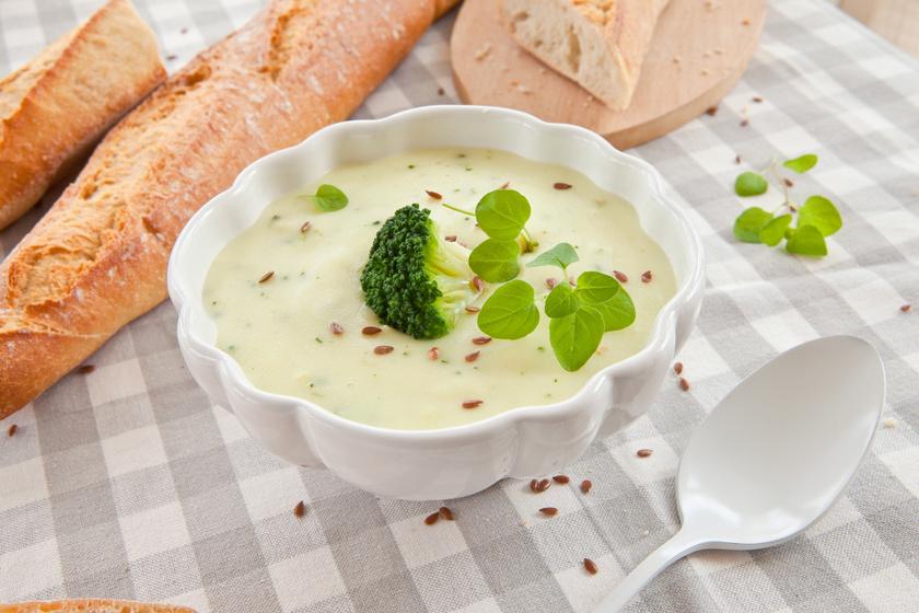 30 perces, brokkolis karfiolkrémleves: selymes, immunerősítő fogás egyszerűen