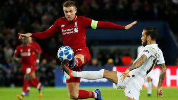 A PSG legyőzte Liverpoolt, hatalmas meccs vár a Napoli ellen a tavalyi döntősre