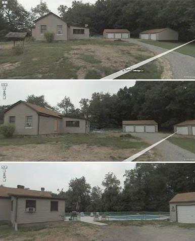 A Boring-birtok a Street View-ban (archív)