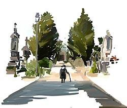 Vázlat a Graveyardhoz. Forrás: Tale of Tales