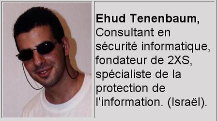 Tenenbaum mint egy francia biztonsági szervezet tanácsadója