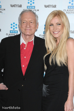 Hugh Hefner és Crystal Harris