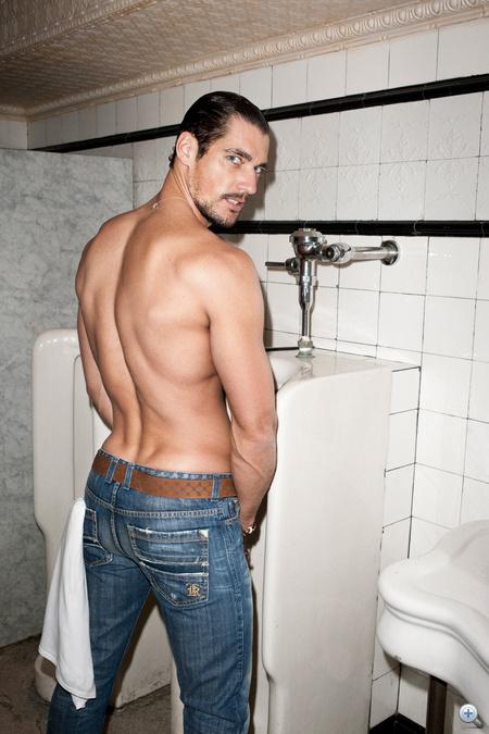 Sergio K, 2011-2012 ősz-tél, modell: David Gandy