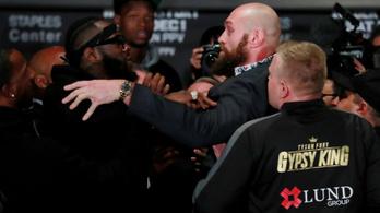 Fury rendesen felhergelte Wildert az utolsó sajtótájékoztatón