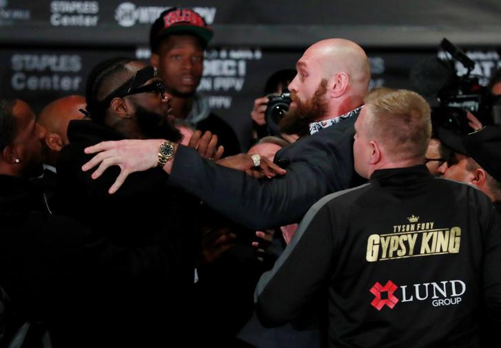 Deontay Wilder és Tyson Fury