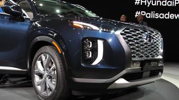 Jó nagy dög lett az új Hyundai terepjáró