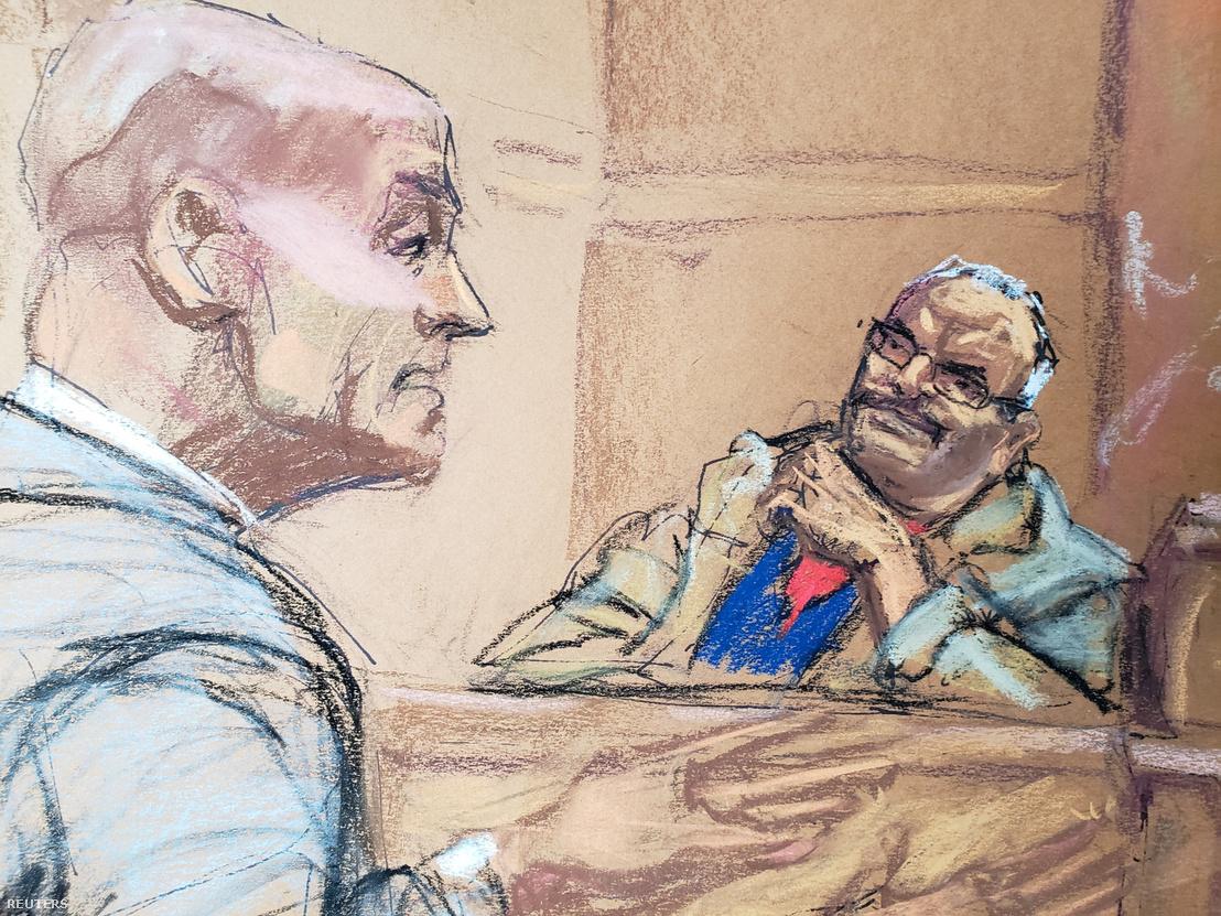 Jesús Zambada García a tárgyaláson