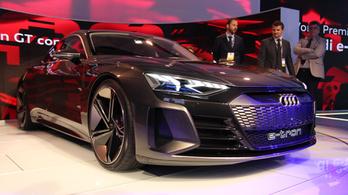 Audi e-Tron GT: tökéletes, csak kilenc évet késett