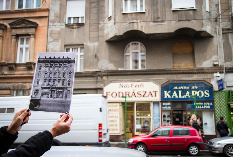 Azonban a kerületben nem csak romák telepedtek le