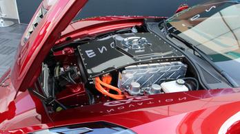 Őrültdrága Corvette villanyőrülteknek