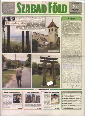 Szabad Föld 1998-ban.