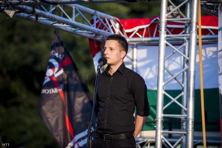 Magvasi Adrián, a Hatvannégy Vármegye Ifjúsági Mozgalom vezetőségi tagja, az Alfahír hírportál főszerkesztője