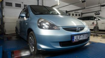 Totalcar Erőmérő: Honda Jazz – 2004.