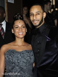 Alicia Keys és férje, Swizz Beatz