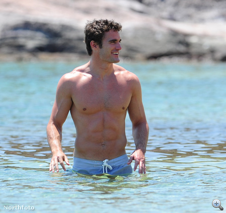 Thom Evans a vízben