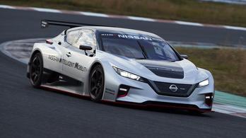 Durva sport-villanyautót készített a Nissan