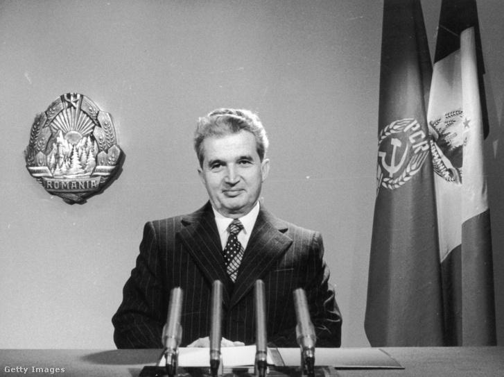 Ceaușescu 1977-ben